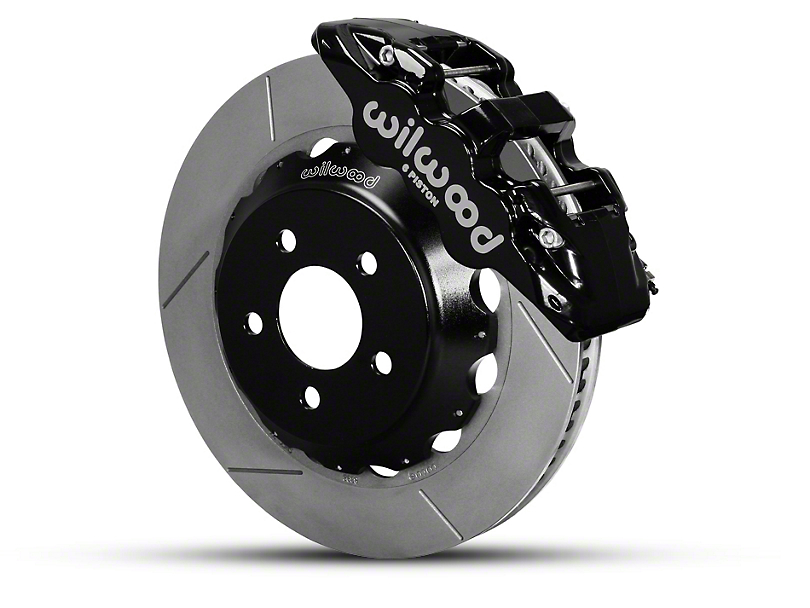 Wilwood AERO6 Front Brake Kit w/ 15 in. Slotted Rotors - Black (15-19 All)