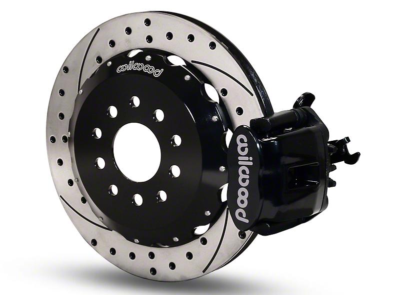 Wilwood CPB Rear Brake Kit w/ Drilled & Slotted Rotors - Black (94-04 GT, V6)