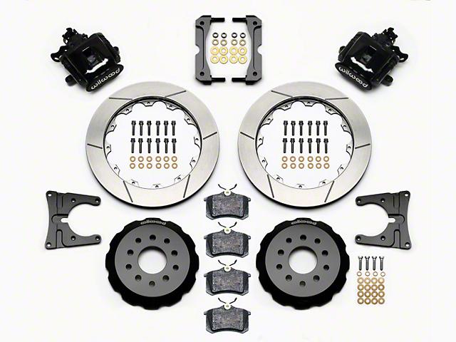 Wilwood CPB Rear Brake Kit w/ Slotted Rotors - Black (05-14 All)