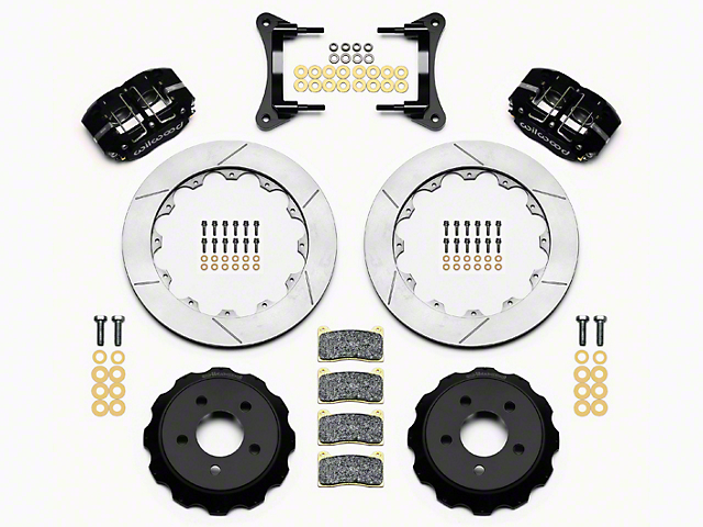 Wilwood DynaPro 4R Drag Race Front Brake Kit w/ Slotted Rotors (15-18 All)