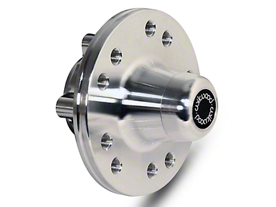 Wilwood Forged Billet Aluminum Solid Rotor Offset Hub - 5x4.50/4.75 (87-93 All)