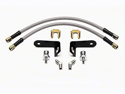 Wilwood Race Caliper Flexline Brake Line Kit - Front (15-18 All)