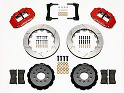 Wilwood Superlite 6R Front Big Brake Kit w/ 13 in. Slotted Rotors - Red (05-14 All)