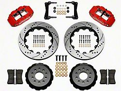 Wilwood Superlite 6R Front Big Brake Kit w/ 14 in. Drilled & Slotted Rotors - Red (05-14 All)