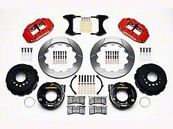 Wilwood Superlite 6R Rear Big Brake Kit w/ Slotted Rotors - Red (05-14 All)