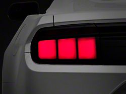 Raxiom Profile LED Tail Lights; Gloss Black Housing; Smoked Lens (15-21 All)