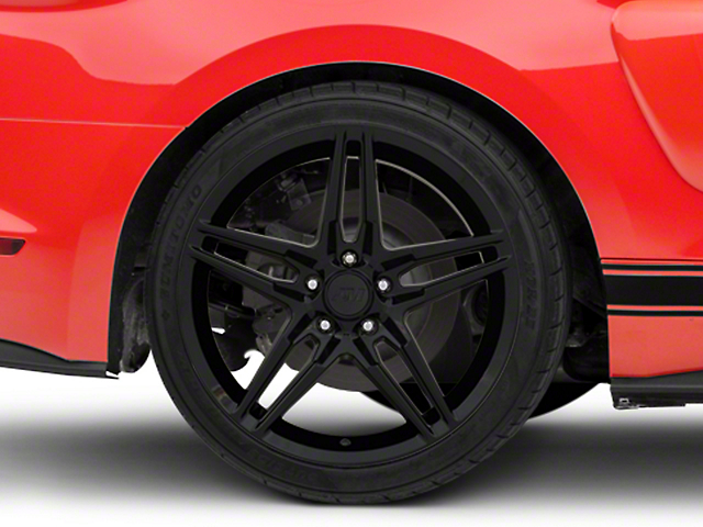 2018 Mustang Style Black Wheel - 19x10 - Rear Only (15-19 GT, EcoBoost, V6)