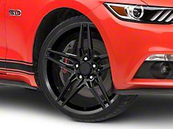 2018 Mustang Style Black Wheel; 20x9 (15-20 GT, EcoBoost, V6)