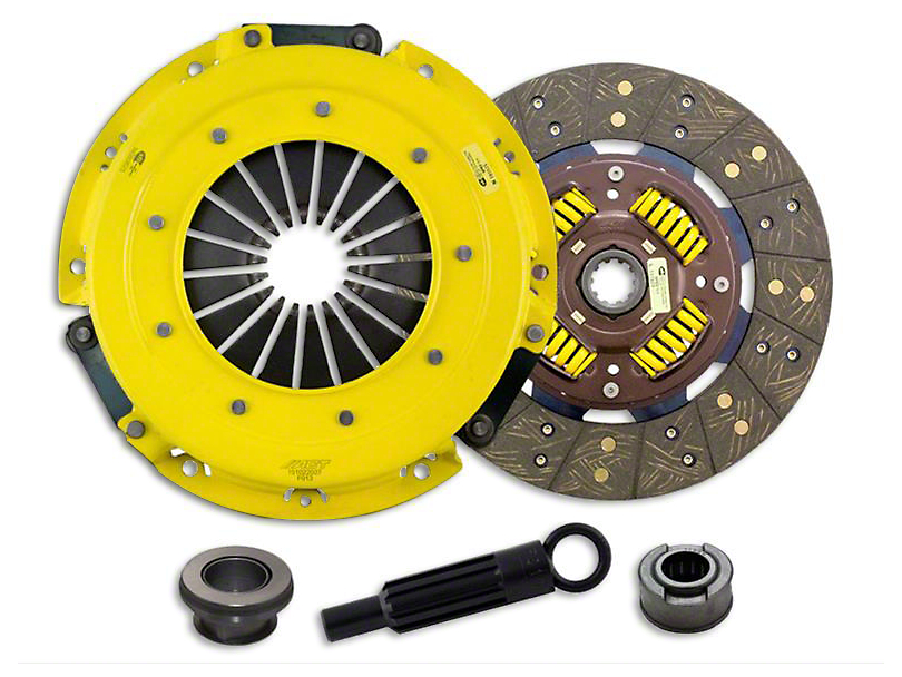 ACT HD/Perf Street Sprung Organic Clutch Kit; 10 Spline (86-95 5.0L)
