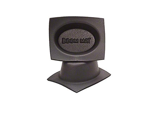Boom Mat Speaker Baffles; 4x6-Inch Oval (Universal Fitment)