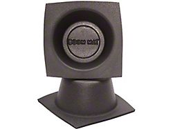 Boom Mat Speaker Baffles; 4-Inch Round Slim (Universal; Some Adaptation May Be Required)
