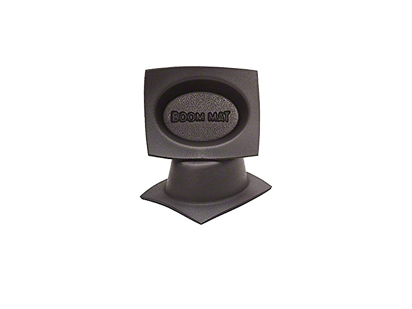 Boom Mat Speaker Baffles - 4x6 in. Oval Slim (79-19 All)
