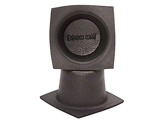 Boom Mat Speaker Baffles; 5-1/4-Inch Round Slim (Universal Fitment)