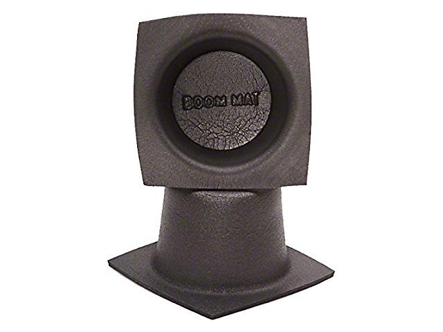 Boom Mat Speaker Baffles; 6-3/4-Inch Round Slim (Universal Fitment)