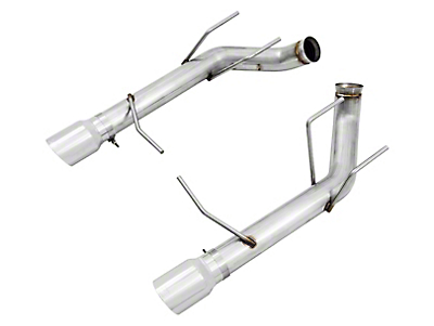 AWE Track Edition Axle-Back Exhaust w/ Chrome Silver Tips (11-14 GT)