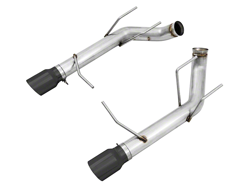 AWE Track Edition Axle-Back Exhaust w/ Diamond Black Tips (11-14 GT; 11-12 GT500)