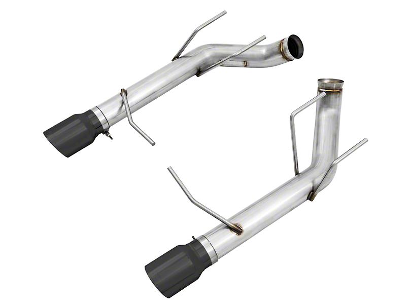 AWE Track Edition Axle-Back Exhaust w/ Diamond Black Tips (11-14 GT)