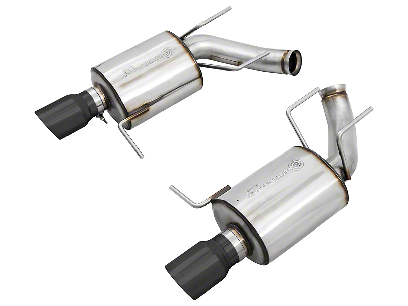 AWE Touring Edition Axle-Back Exhaust w/ Diamond Black Tips (11-14 GT; 11-12 GT500)