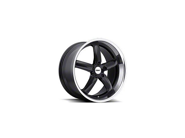 TSW Stowe Gloss Black Wheel; 19x8 (10-14 All)