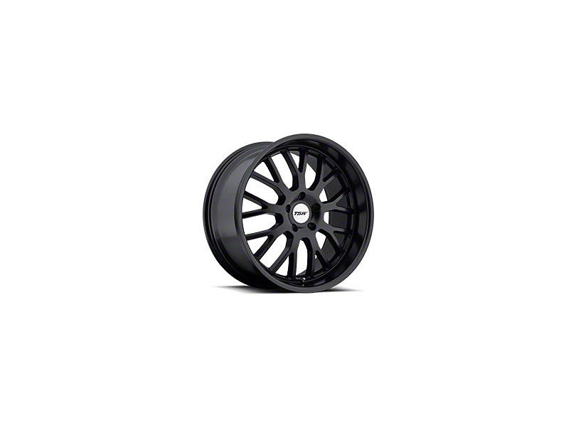 TSW Tremblant Matte Black Wheel - 19x8 (05-14 Standard GT, V6)