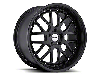 TSW Valencia Matte Black Wheel - 19x8 (15-18 All)