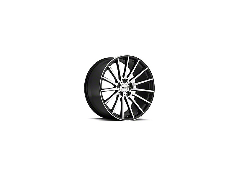 TSW Chicane Gloss Black Wheel; 19x8.5 (05-09 GT, V6)