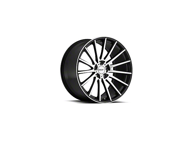 TSW Chicane Gloss Black Wheel; 20x8.5 (05-09 GT, V6)