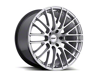 TSW Max Hyper Silver Wheel - 19x8.5 (05-14 Standard GT, V6)