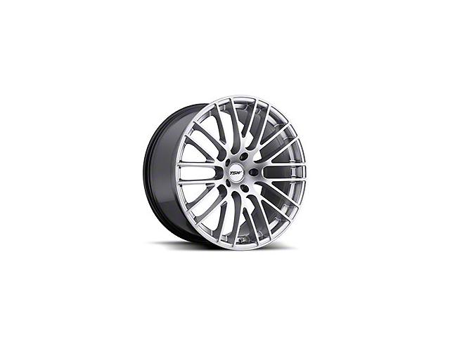TSW Max Hyper Silver Wheel - 19x8.5 (15-19 EcoBoost, V6)