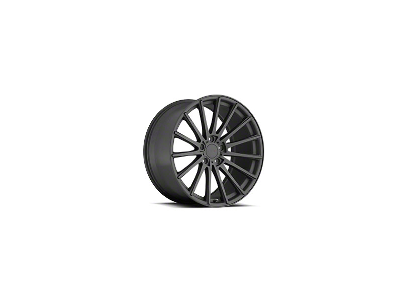 TSW Chicane Matte Gunmetal Wheel - 19x8.5 (05-14 Standard GT, V6)