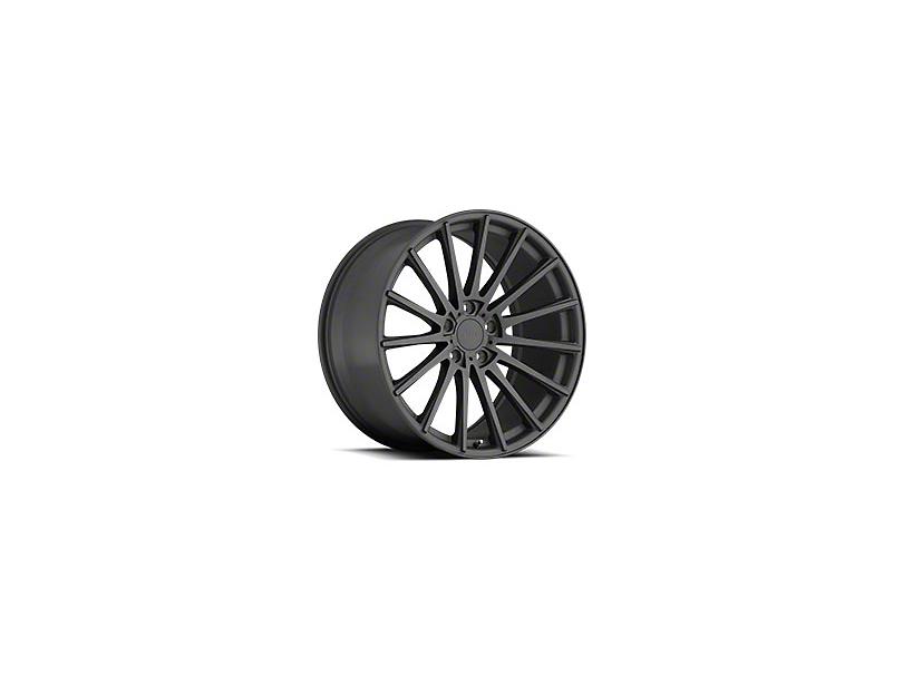 TSW Chicane Matte Gunmetal Wheel - 19x8.5 (15-19 EcoBoost, V6)