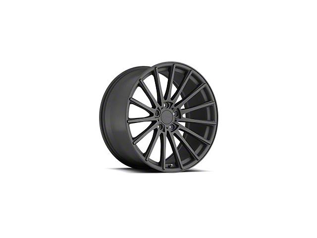 TSW Chicane Matte Gunmetal Wheel; 19x8.5 (15-21 Standard EcoBoost, V6)