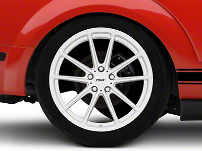 TSW Bathurst Silver Wheel - 20x10 (05-14 All)