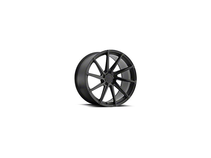 TSW Watkins Double Black Wheel; Driver Side; 20x8.5 (15-20 EcoBoost, V6)
