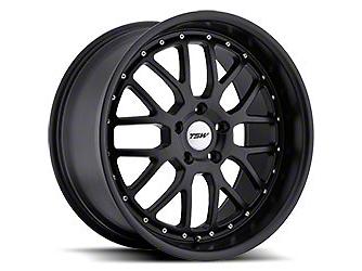 TSW Valencia Matte Black Wheel - 20x8.5 (15-18 EcoBoost, V6)