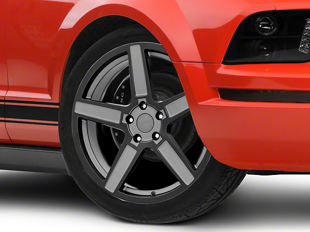 TSW Ascent Matte Gunmetal Wheel - 20x8.5 (05-14 All)