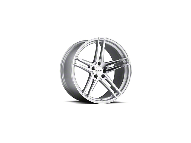 TSW Mechanica Silver Wheel - 20x8.5 (15-19 EcoBoost, V6)