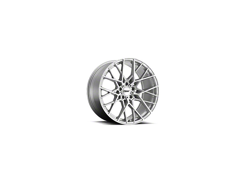 TSW Sebring Silver Wheel - 20x8.5 (05-14 Standard GT, V6)