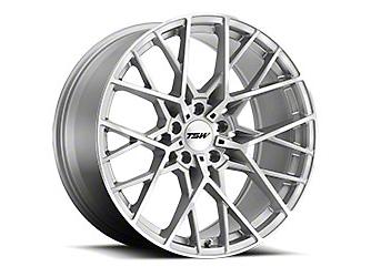 TSW Sebring Silver Wheel - 20x8.5 (15-18 EcoBoost, V6)