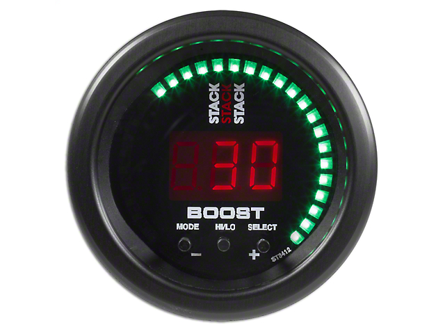 Auto Meter Stack Boost Controller Gauge - Black (79-19 All)