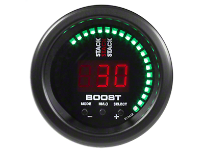 Auto Meter Stack Boost Controller Gauge - Black (79-18 All)