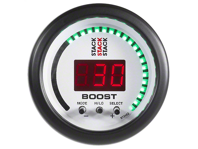 auto meter mustang stack boost controller gauge white st3462 (79auto meter mustang stack boost controller gauge white st3462 (79 19 all)