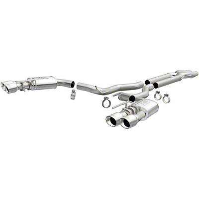 Magnaflow Competition Cat-Back Exhaust (18-19 GT w/o Active Exhaust)