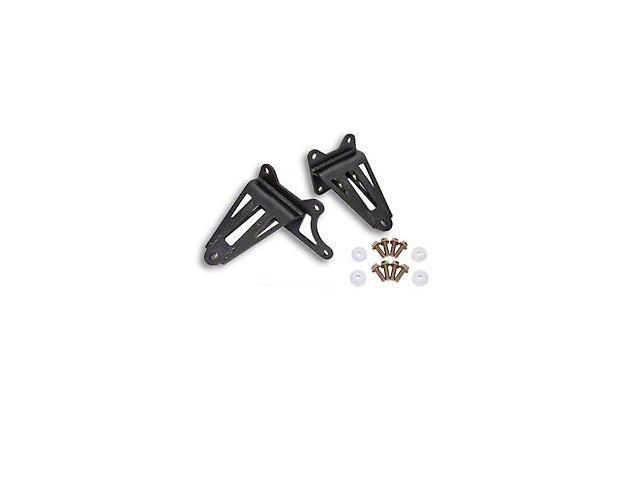 BMR Adjustable Motor Mounts - Black Hammertone (15-20 GT)