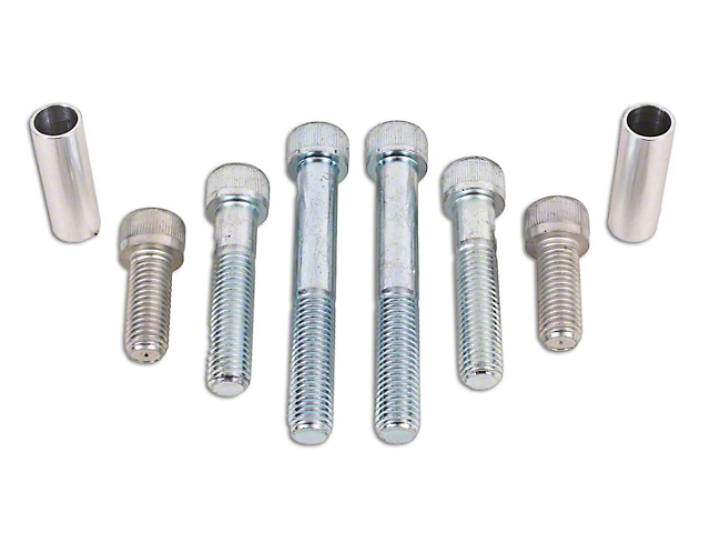 BMR Differential Hardware Upgrade Kit; Zinc Plated (15-21 All)