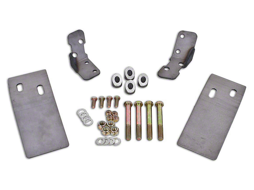 BMR Torque Box Reinforcement Plate Kit - Upper Only (79-04 All)