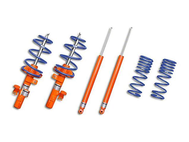KONI STR.T Shock, Strut & Eibach Pro-Kit Lowering Spring Kit (07-10 GT500)