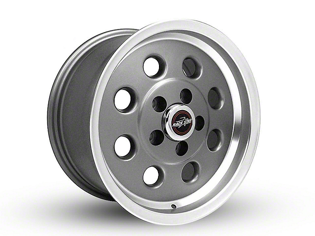 Race Star 82 Pro-Lite Metallic Gray Wheel - 15x8 (05-14 All, Excluding 13-14 GT500)