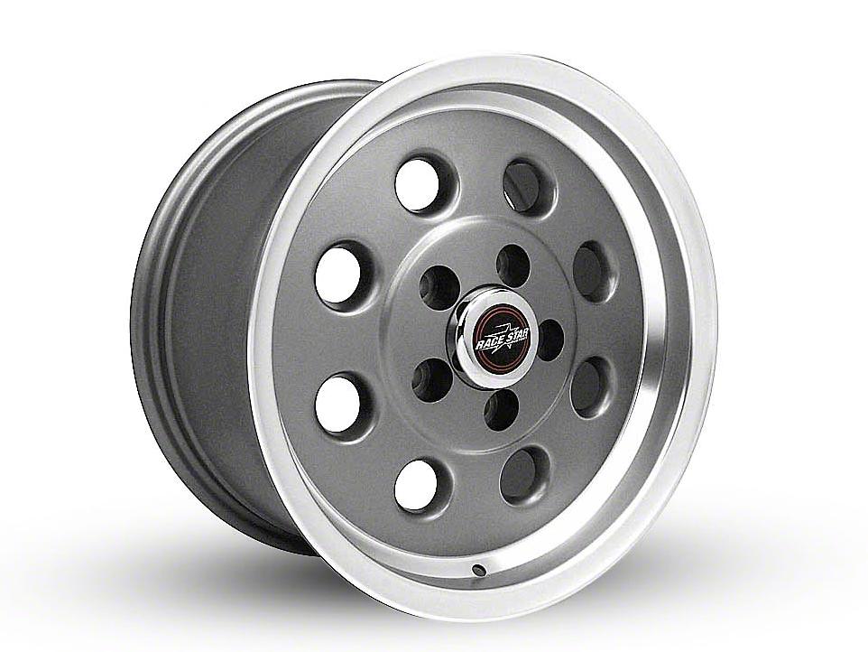 Race Star 82 Pro-Lite Metallic Gray Wheel - 15x8 (87-93 w/ 5 Lug Conversion)