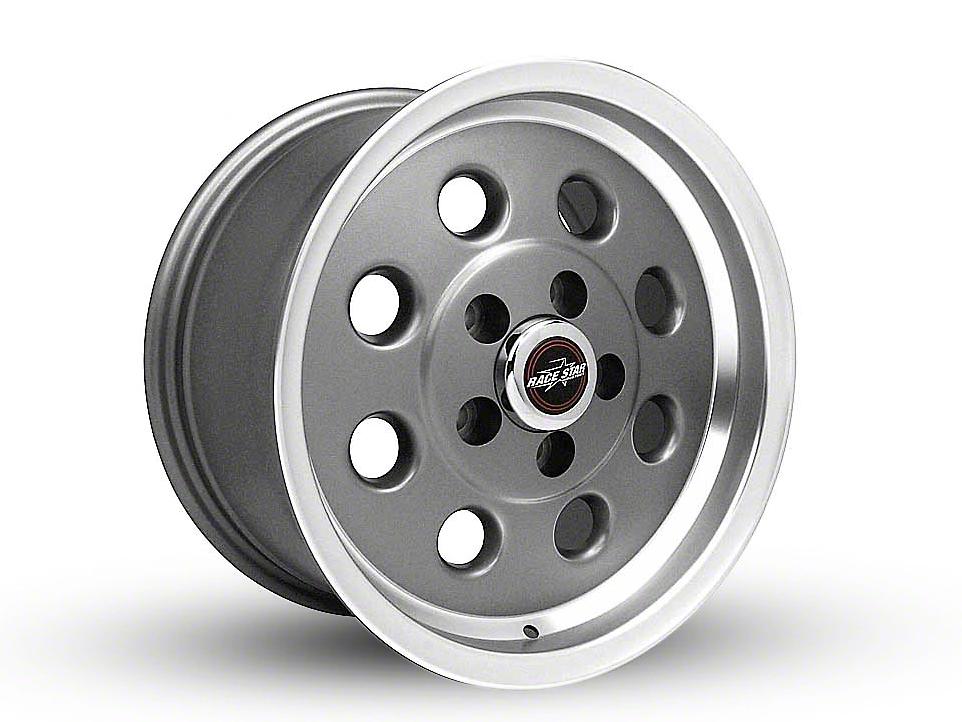 Race Star 82 Pro-Lite Metallic Gray Wheel - 15x8 (94-04 GT, V6)